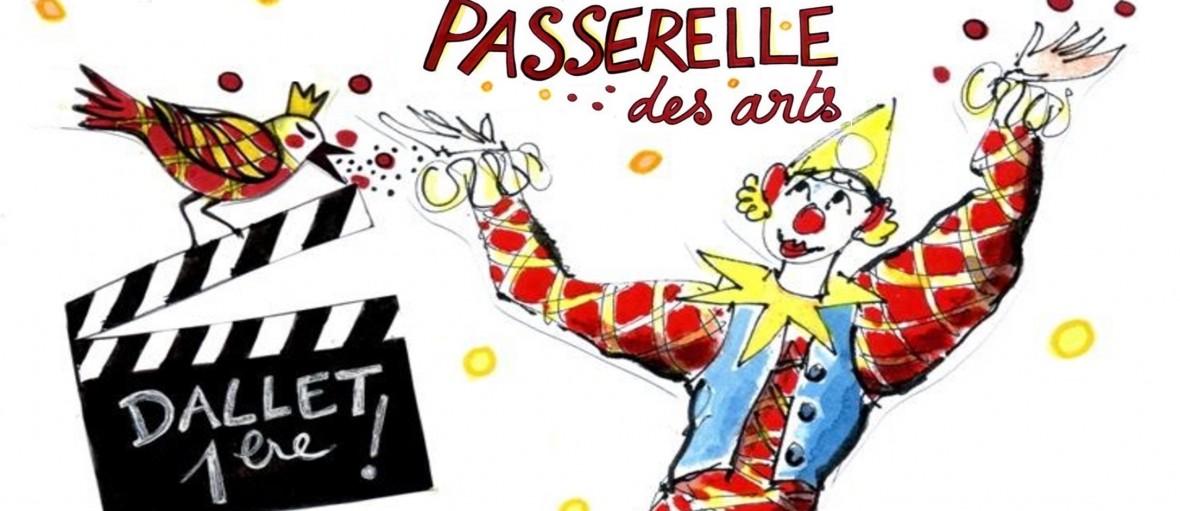 cirque event partenaire de la passerelle des arts dallet puy de dome