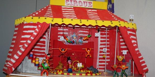 Accompagnement des écoles dans leur projet cirque