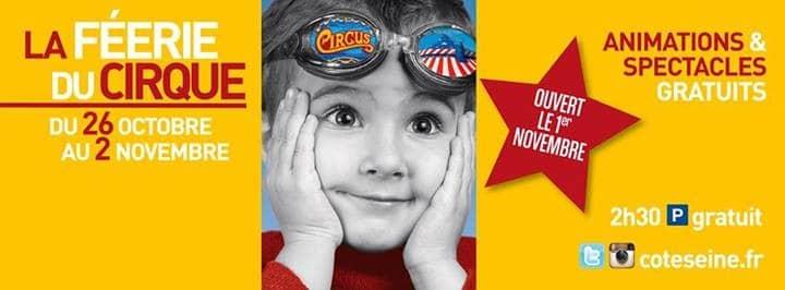cirque event animation commerciale cote seine argenteuil cirque