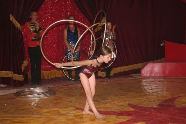 cirque event semaine bleue personnes agees