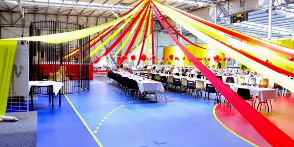 ambiance decoration circus cirque location event