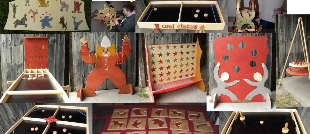 jeux en bois animation cirque event ludi circus