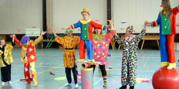 cirque recreatif participatif