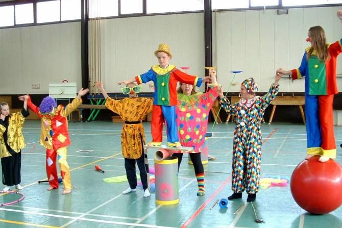 cirque recreatif participatif
