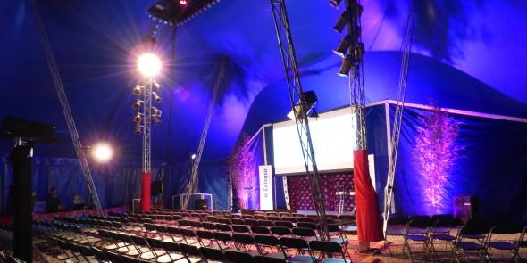 convention entreprise chapiteau cirque organisation