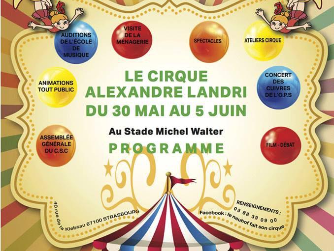 cirque event neuhof strasbourg animation ville quartier fete habitants