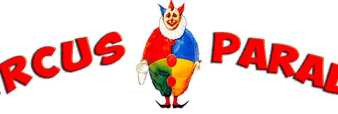 logo cirque event parade site circus