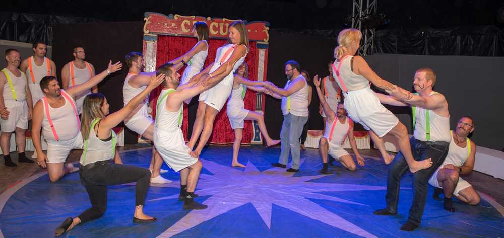 cirque event cohesion equipe team building entreprise conventon