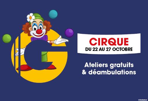 cirque event mercialis animation commercial galerie original decor concept