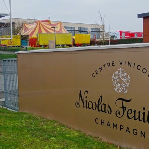 Au champagne Nicolas Feuillatte