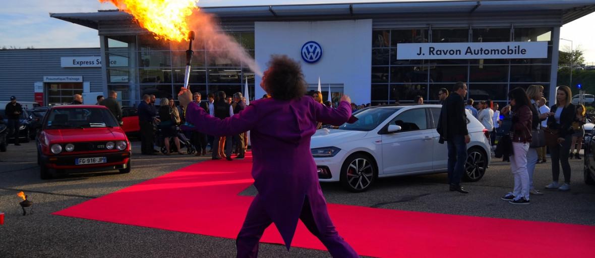 Animation concession automobile france specialiste anniversaire idee client portes ouvertes