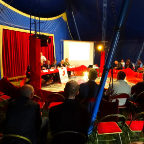 CIRQUE EVENT - CAPEB 63 - AG & Team Building - cohesion equipe original sur mesure evenement